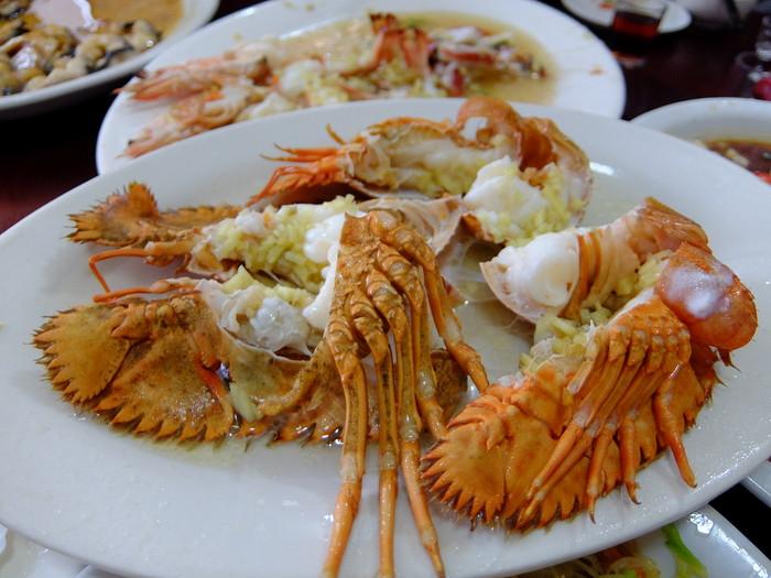 海門島(海门岛)でいただく豪勢な海鮮料理
