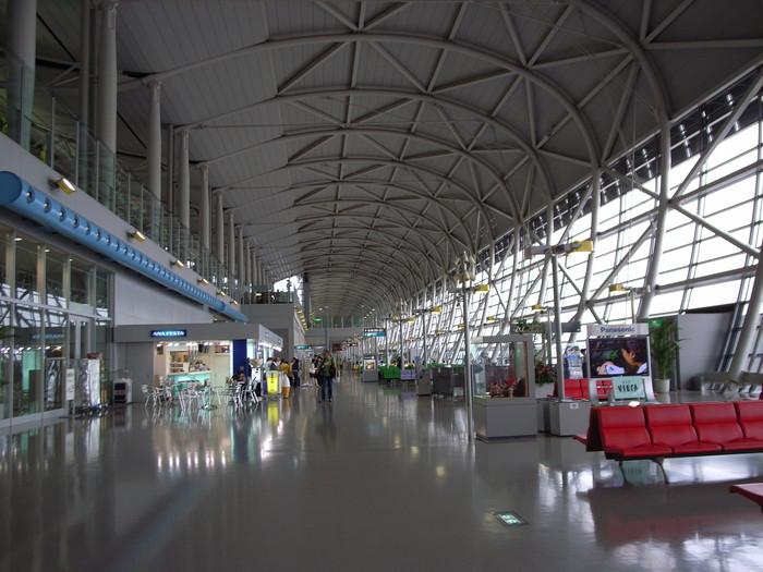 関西空港の搭乗口付近