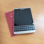 BlackBerry Passport Silver Editionで初BlackBerry だ!