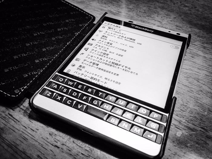 BlackBerry PassportでIIJmioのSIMカードを使う