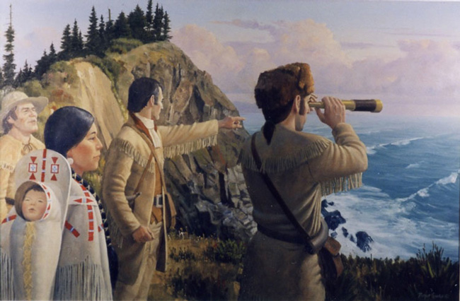 Native American Lewis And Clark Encounter