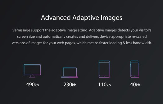 Vernissage WordPress Adaptive Images