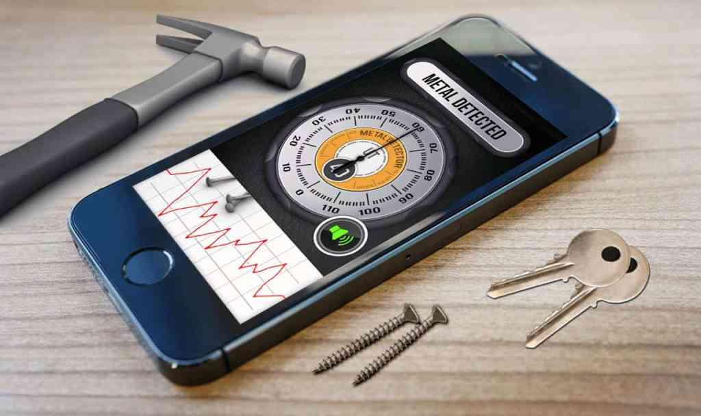 How to make a metal detector with a smartphone