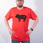 This Little Piggy Stayed at Home – Premium T-Shirt or Hoodie