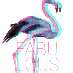 Fabulous Flamingo – Premium T-Shirt or Hoodie
