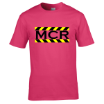 MCR Black Text – Yellow/Black Border