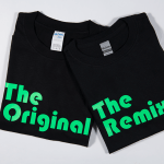 Family Matching T-Shirt (1 Adult & 1 Child) – The Original/The remix