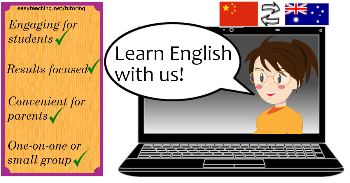 English Tutoring for Chinese Students • EasyTeaching.net