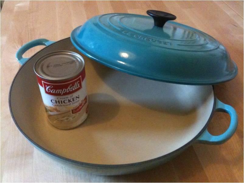 Cheat's chicken casserole