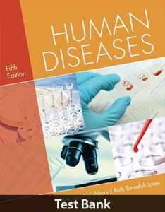 Human Diseases 5th Edition Test Bank By Neighbors