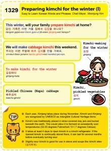 1329 - Preparing kimchi for the winter 1