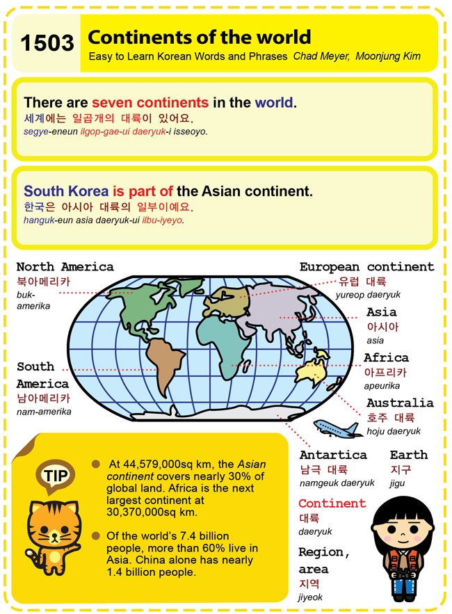 1503-Continents of the world