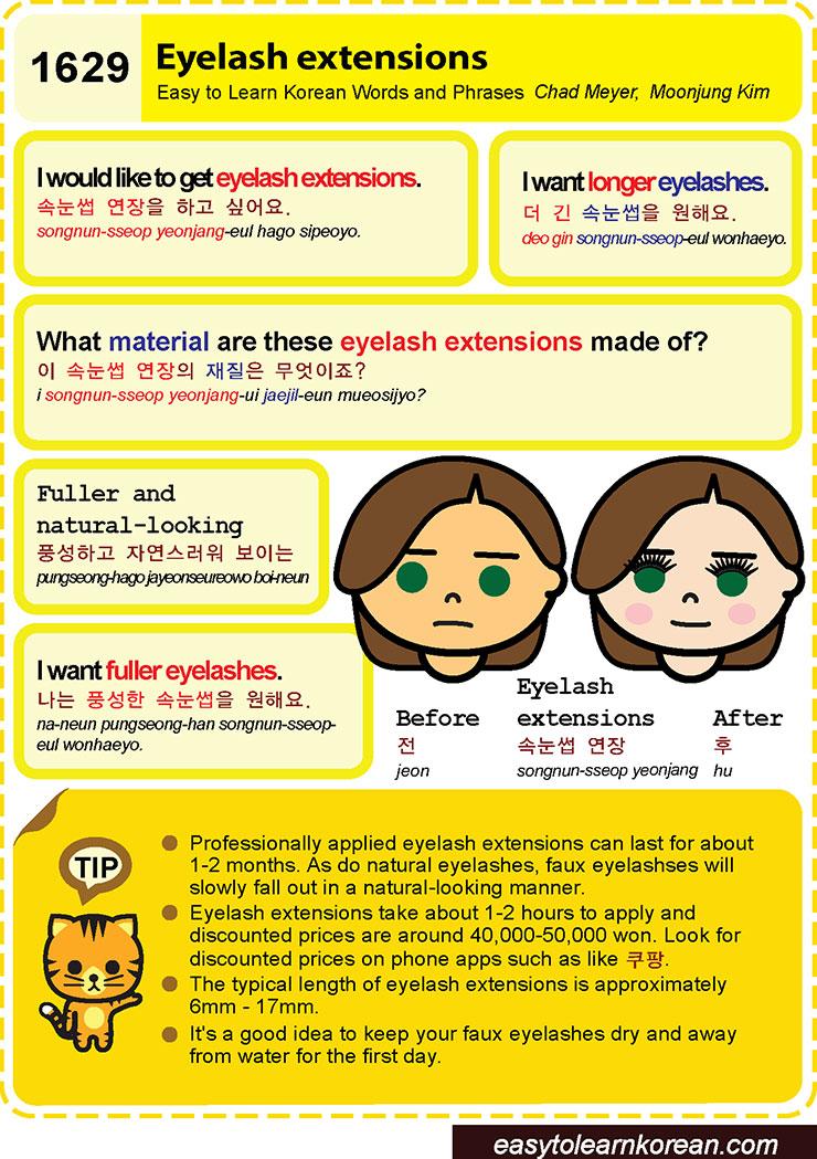 1629 - Eyelash extensions