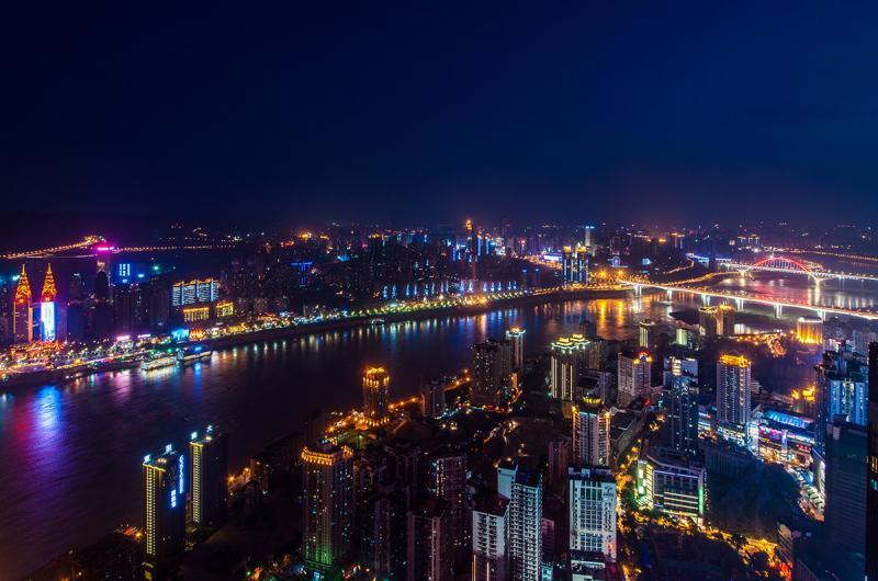 Chongqing night cruise