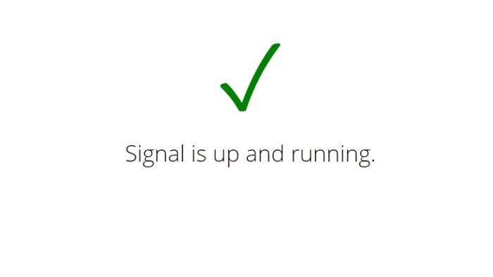 How to check if Signal or Telegram is Down or Up?