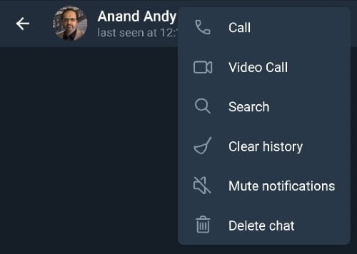 How to start Voice and Video calls on Telegram