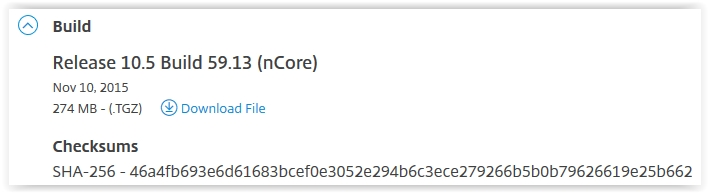 Citrix Netscaler 10.5 Firwmare Download - 02
