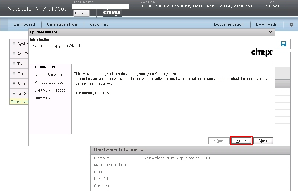 Netscaler 10.1 to 10.5 Upgrade-06