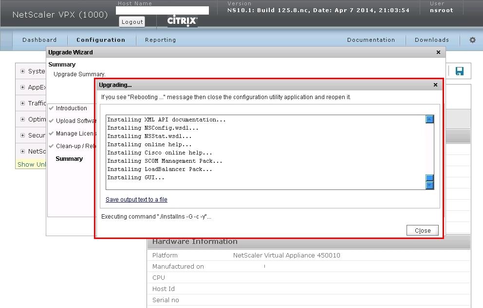 Netscaler 10.1 to 10.5 Upgrade-15