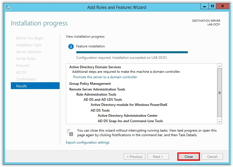 How to Install Active Directory on Windows Server 2012 R2 - 11