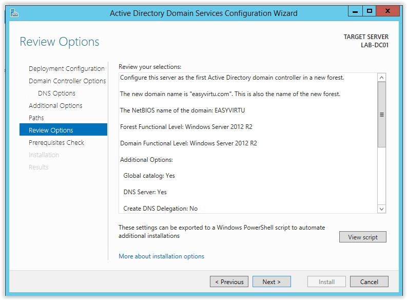 How to Install Active Directory on Windows Server 2012 R2 - 17