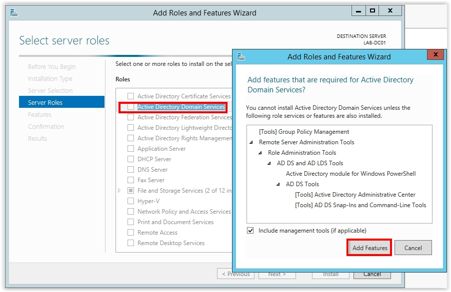 How to Install Active Directory on Windows Server 2012 R2