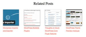 Related Posts Custom CSS layout 1