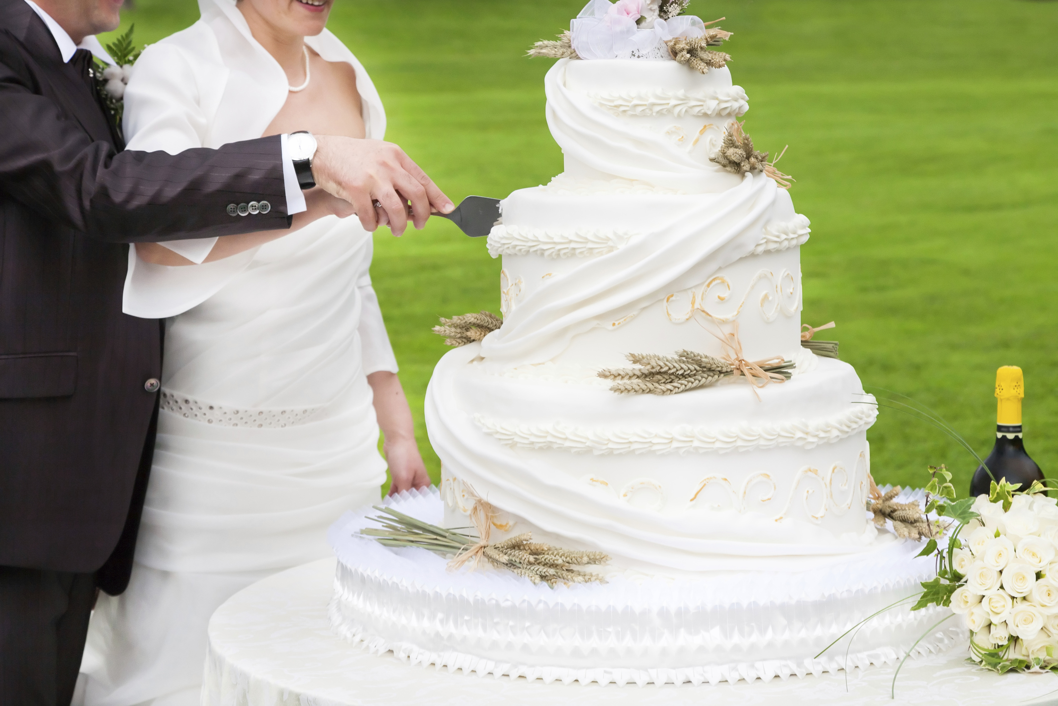 Budget Wedding Cakes Ideas