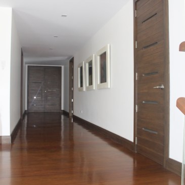 NARRA PLANKS WOOD FLOORING with DARK WALNUT STAIN