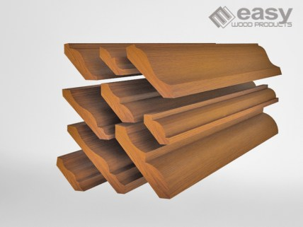 MOULDINGS, BASEBOARDS, CORNICE, DOOR CASING, DADO CHAIR RAIL, CEILING EAVES
