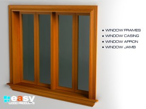 WINDOWS - WINDOW JAMBS, CASING, OTHER COMPONENTS