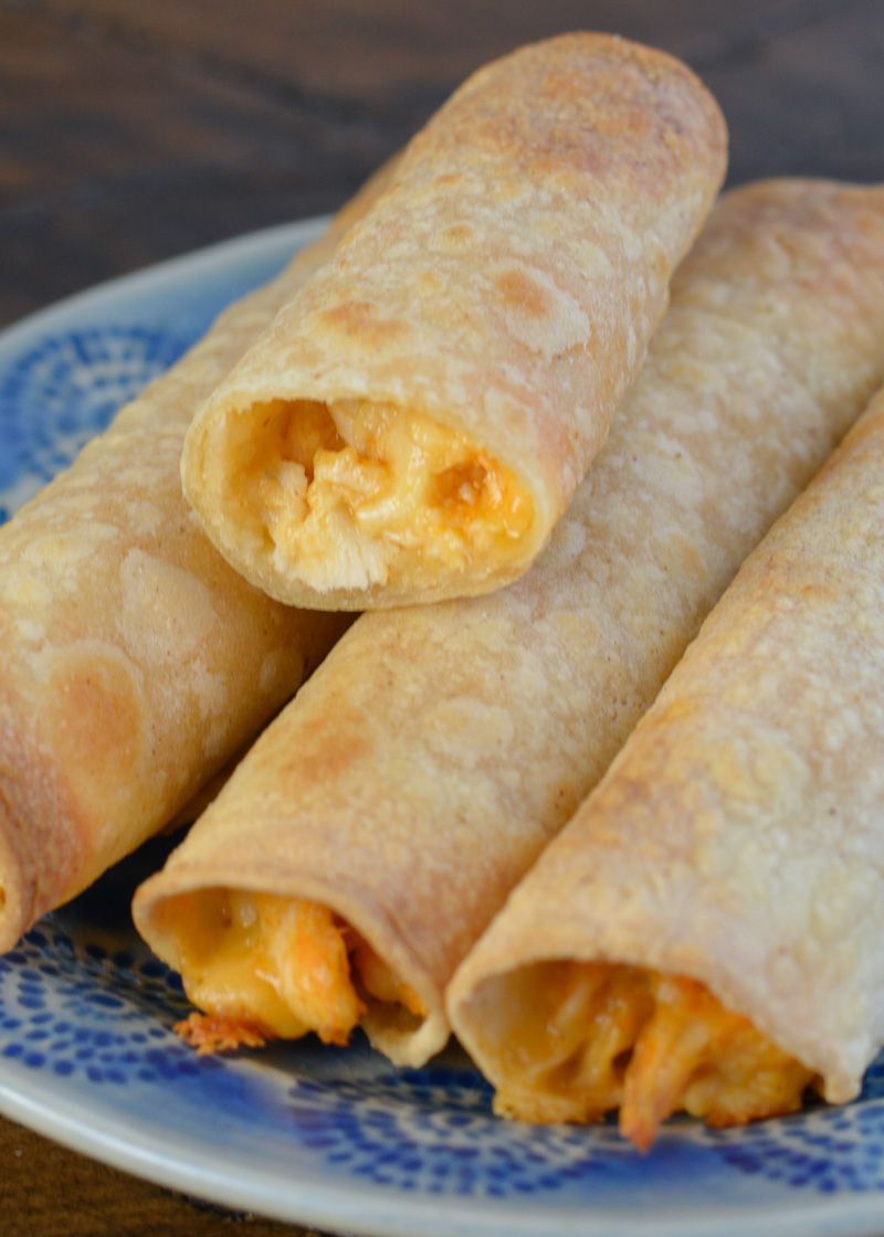 These five ingredient Air Fryer Buffalo Chicken Taquitos are the perfect quick and easy dinner! These Air Fryer Buffalo Chicken Taquitos are super simple to rustle up for a quick and convenient lunch or weeknight dinner.With shredded chicken, sharp cheddar cheese, creamy ranch and tangy buffalo sauce, these delights are everything you hoped for!