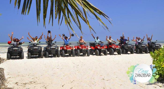 quad in spiaggia zanzibar img