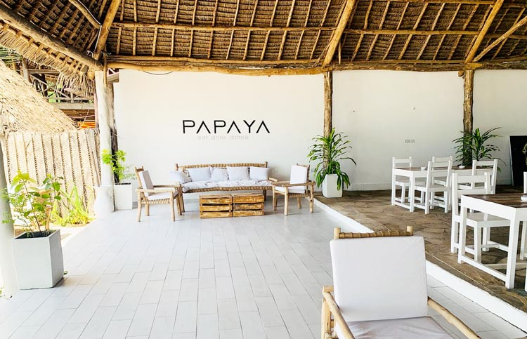 papaya ristorante kiwengwa