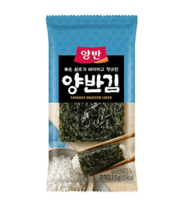 yangban roasted seaweed snacks
