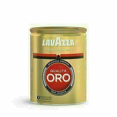 Café Moulu Qualità Oro Tin 250g