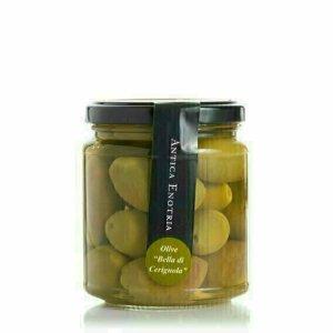 Olives vertes en saumure 290g