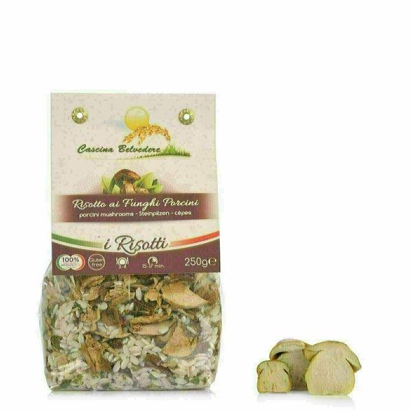 Risotto aux champignons et Cèpes 250g