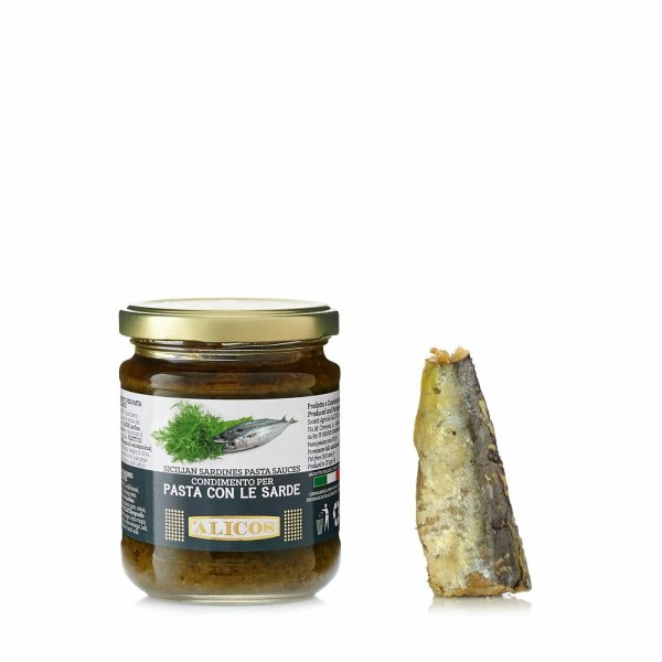 Sauce Fenouil et Sardines 180g