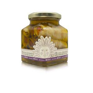 Aubergines roulées à l'huile d'olive 260g