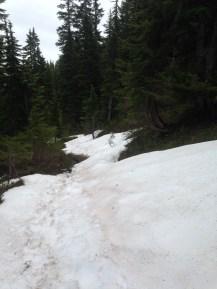 De la neige en altitude