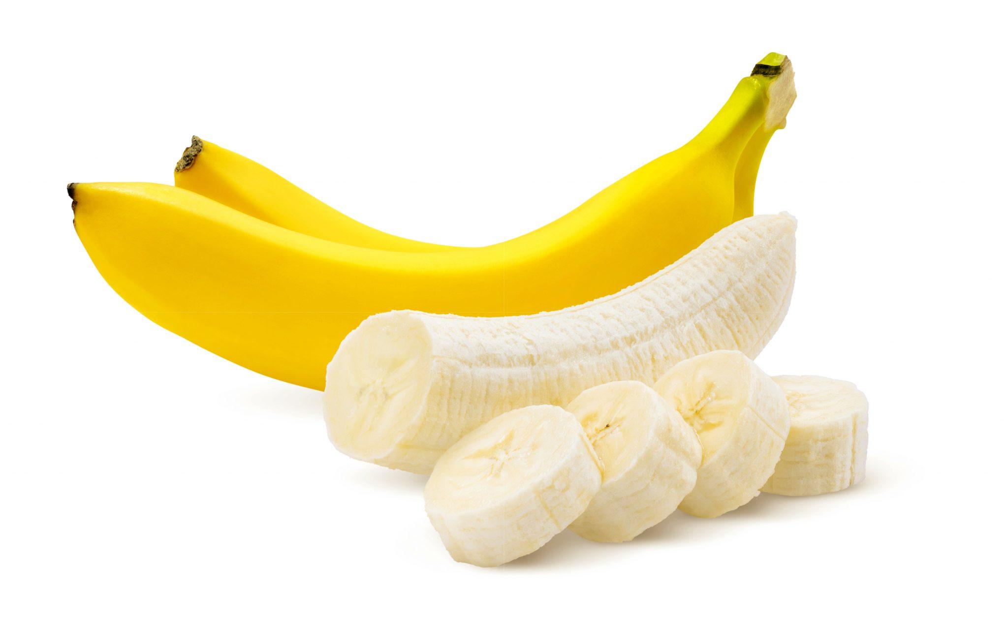 バナナと切ったバナナ