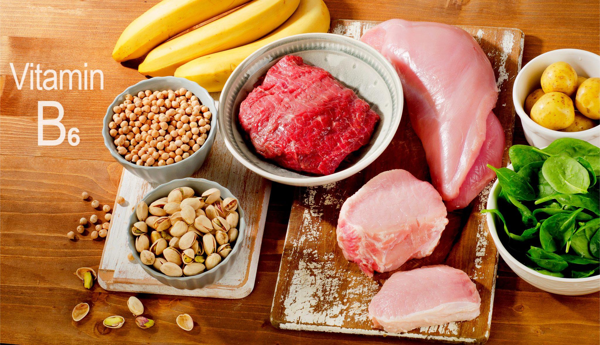 ビタミン b6 食べ物 ビタミンB6を多く含む食べ物・食品と効果効能