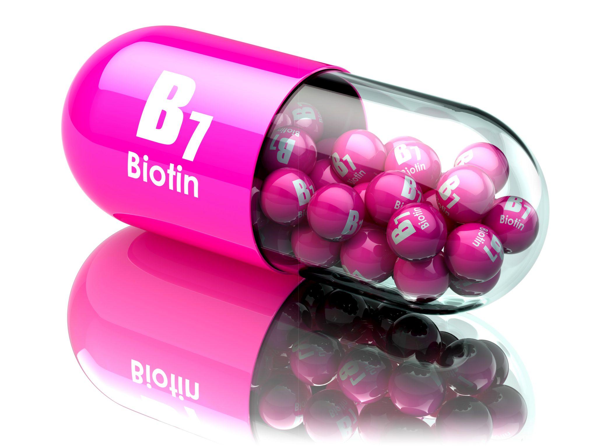 ビオチンのサプリメント