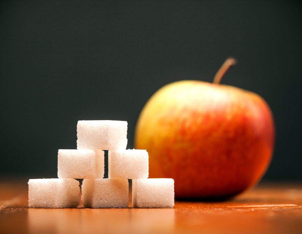 りんごと角砂糖