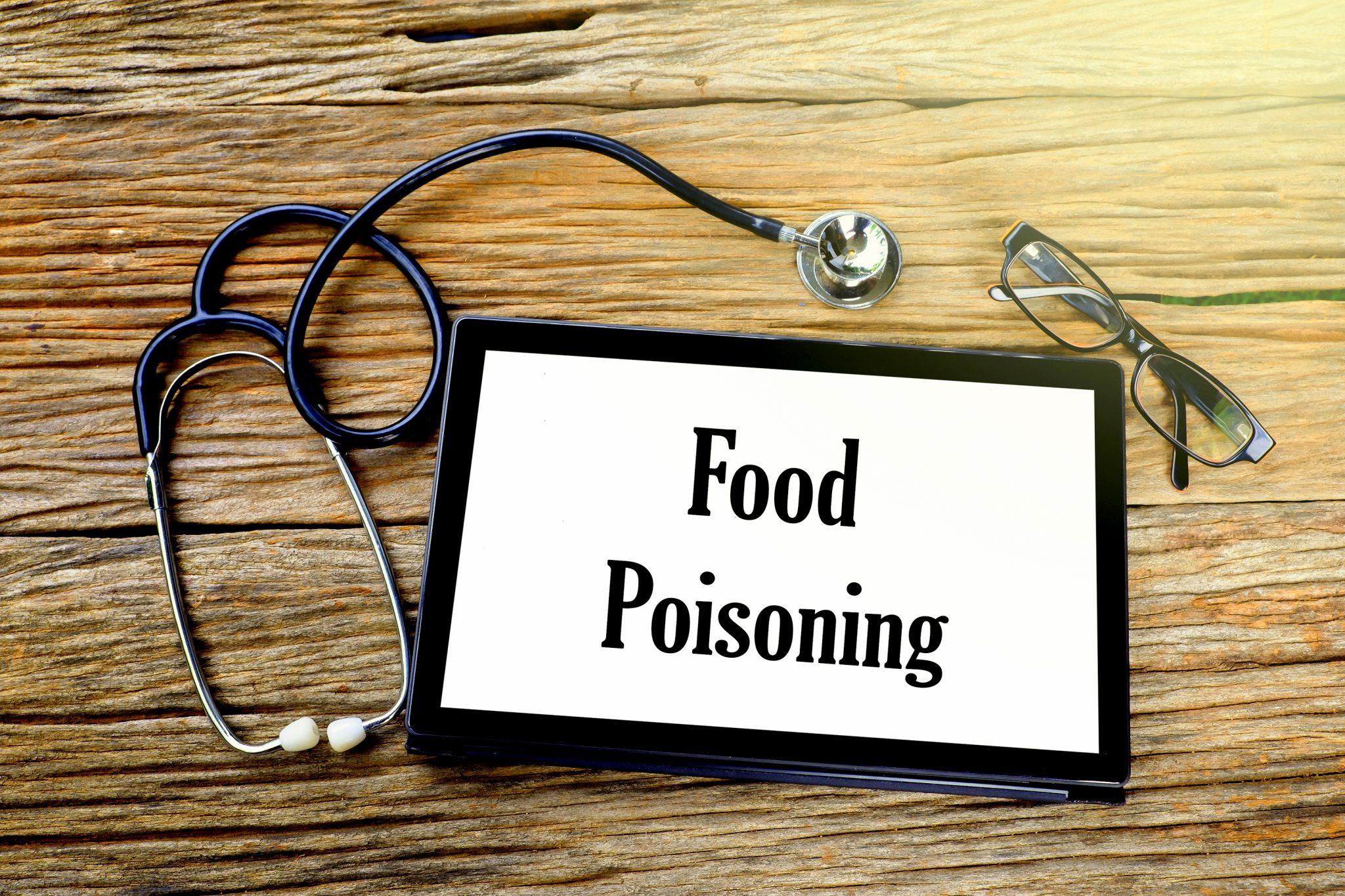 医療器具と食中毒の警告