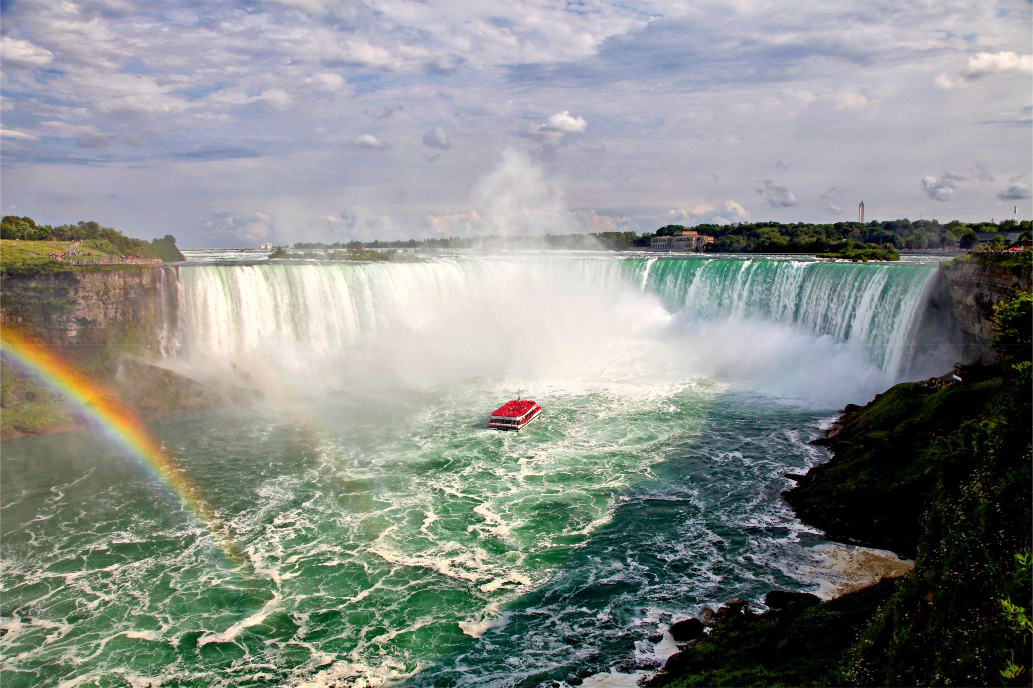 カナダのナイアガラの滝