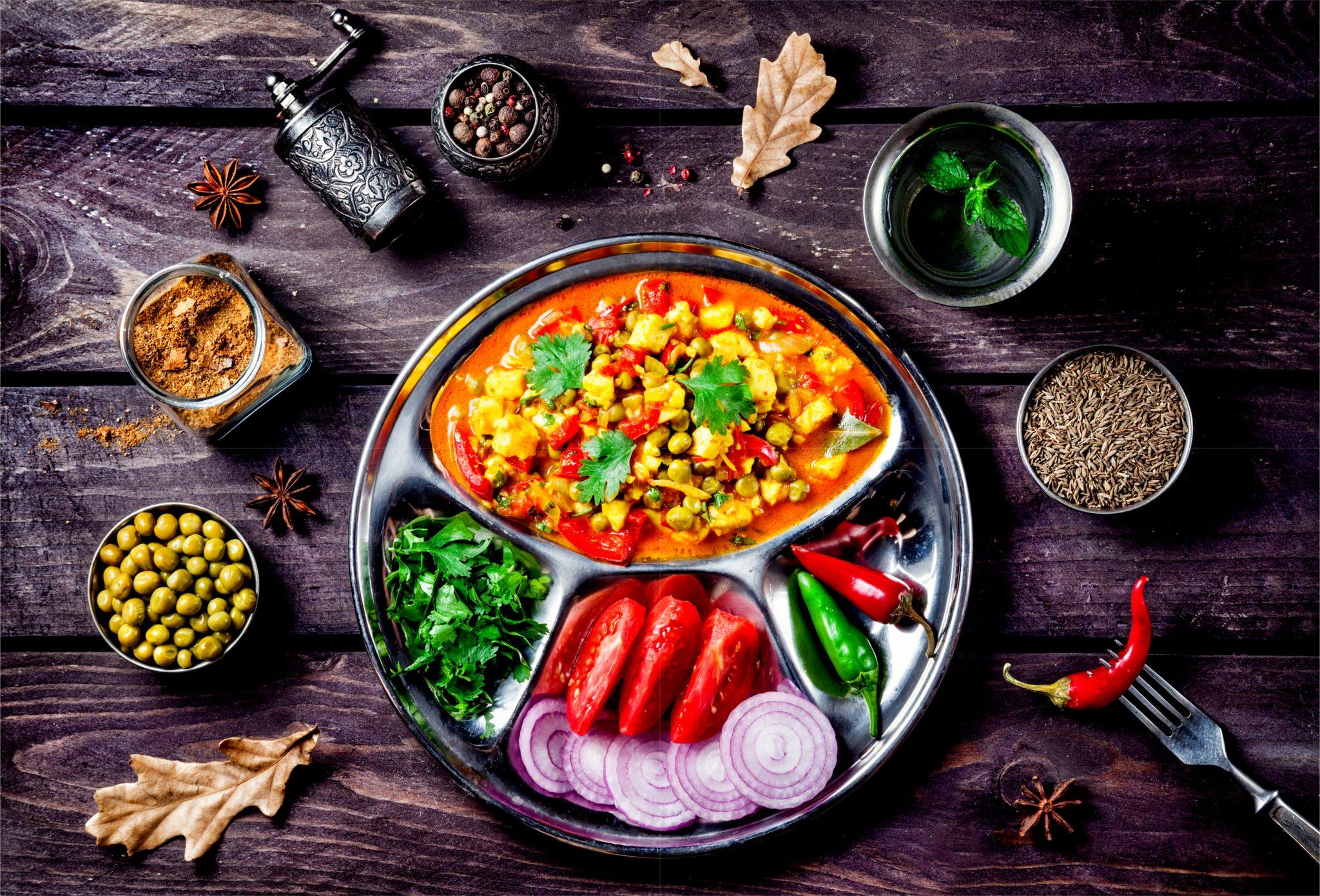 アーユルヴェーダ食事方法