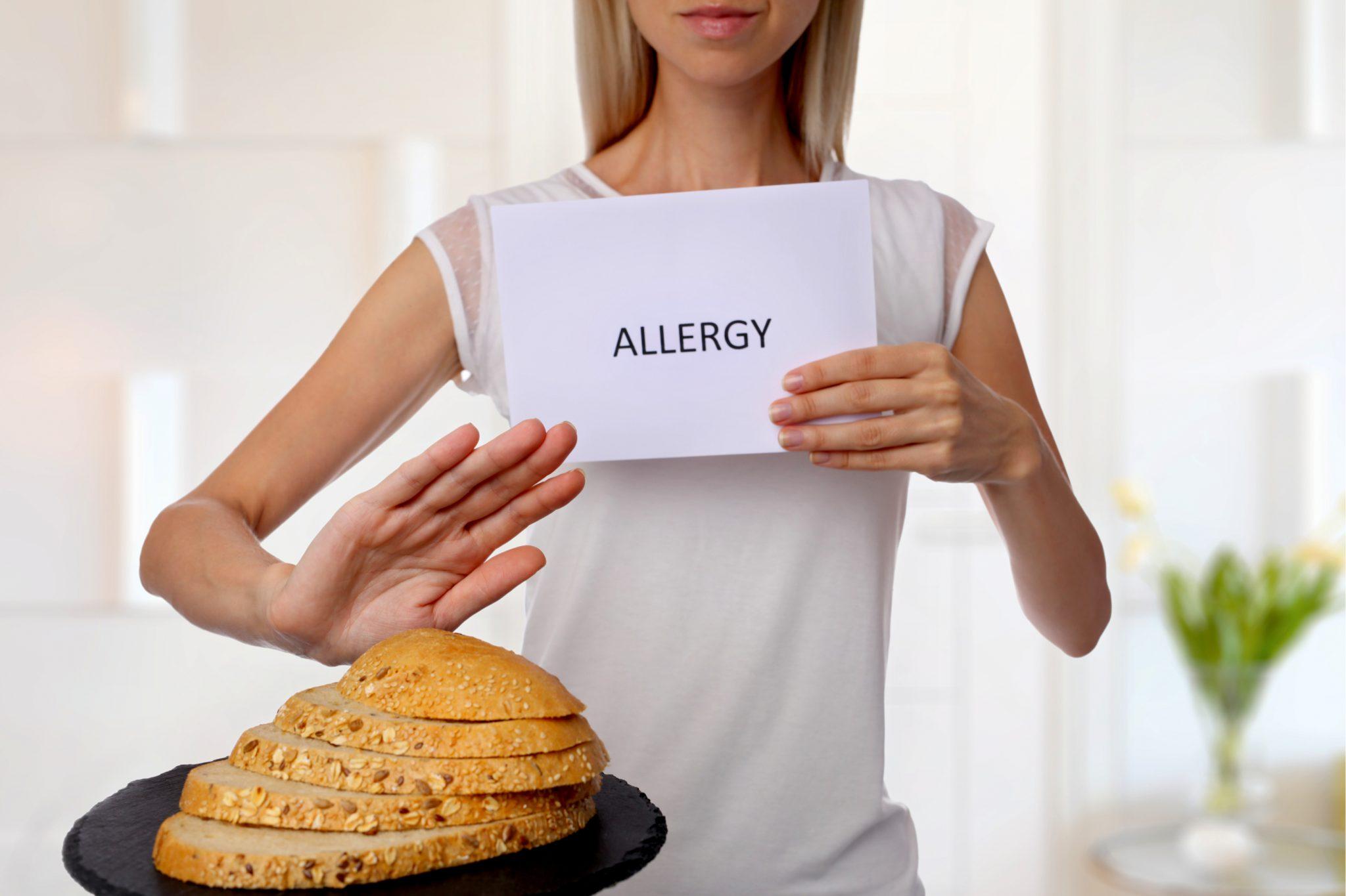小麦アレルギー