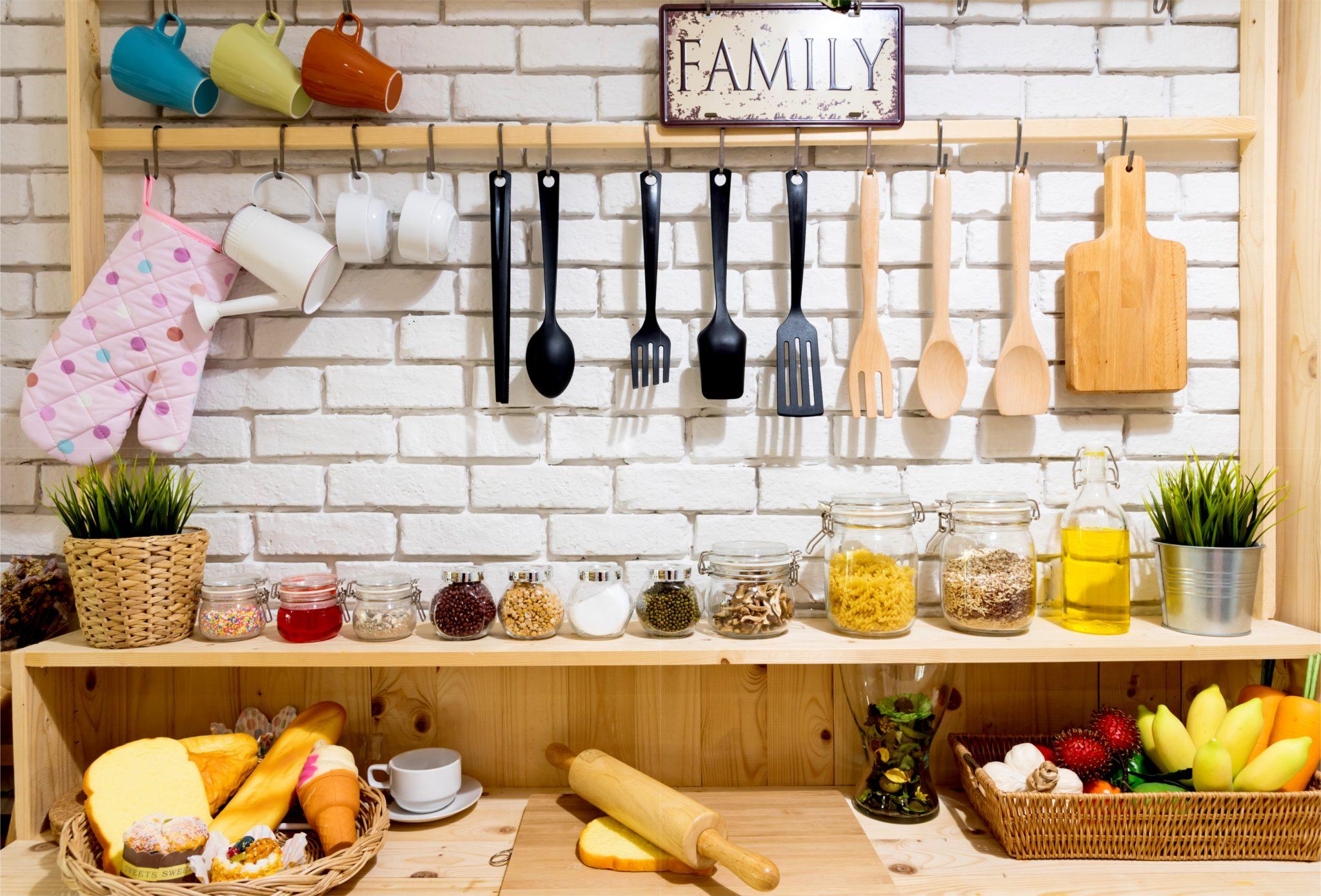 キッチンの調味料スペース